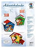 URSUS Calendario dell' Avvento Babbo Natale Bunt
