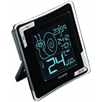 Lexibook TH020 - Termometro Digitale, Sensore Dell'Igrometria, Esposizione di Zona Confort, LCD Retro con Retroilluminazione e Grandi Cifre