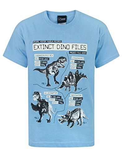 Natural History Museum Extinct Dino Files Boy's T-Shirt