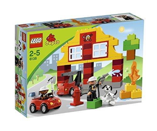 feuerwehrauto lego duplo LEGO Duplo 6138 - Meine erste Feuerwehrstation
