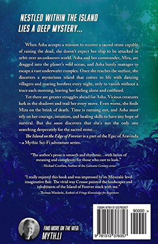 The Island on the Edge of Forever: Volume 2 (The Epic of Aravinda)
