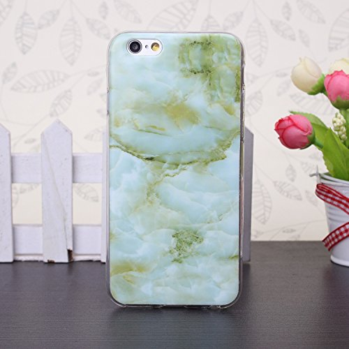 iPhone Case Cover 5se, 65, 68 und fall, bunte muster tpu - weichen fall marmor silikon hülle für 5se, 65, 68 plus ( Color : 10 , Size : 6s Plus ) 9