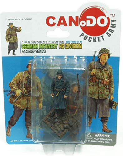 1:35 Combat Figure Series 6 German Infantry Hg Anzio 1944 Figure B