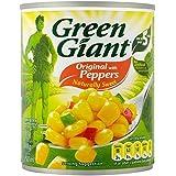 Vert Géant De Maïs Doux Avec Des Poivrons (198G)