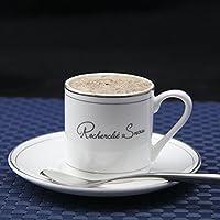ZHGI La porcellana tazzine in Phnom Penh impostare bone china tazze tè caffè,Platinum rim