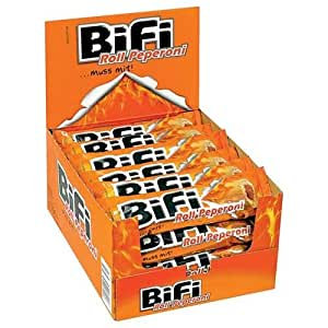 Bifi Roll-Hot scharfe Wurst in Teigmantel (24x50g Packung)