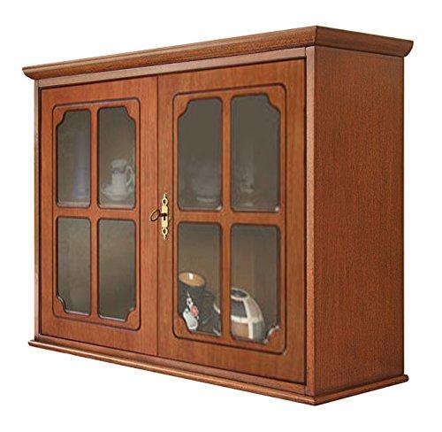 Hängevitrine 2 Türen im klassischen Stil