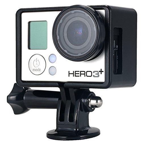 Protettivo-Cornice-Frame-Laterale-Protettiva-Lens-Treppiedi-Adattatore-Per-GoPro-Hero-3-3-4-OS253