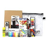 Artway A4 Art Kit - Ideal Art Set for GCSE and A-Level Creative/Art Courses - A4