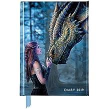 Anne Stokes – Once Upon a Time - Es war einmal vor langer Zeit 2019: Original Flame Tree Publishing-Pocket Diary [Taschenkalender]