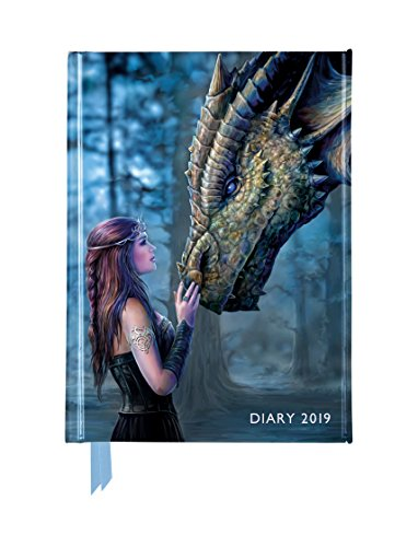 Anne Stokes – Once Upon a Time - Es war einmal vor langer Zeit 2019: Original Flame Tree Publishing-Pocket Diary [Taschenkalender]
