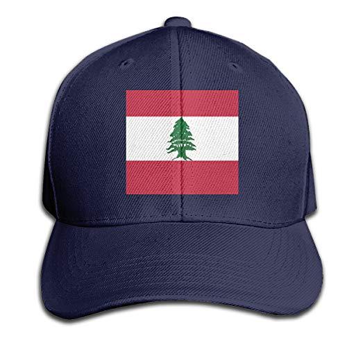 Osmykqe Lebanese Flag Unisex Sommer Sonnenhut einstellbar lässig Golf Tennis Caps - Camo Baby Doll