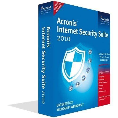 Acronis Backup and Security 2010 - Mini Box - 3 PCs - 5 GB
