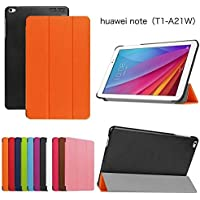 DETUOSI Huawei Mediapad T1 10.0 Funda de Cuero,Ultra Slim Lightweight Funda Case de Cuero