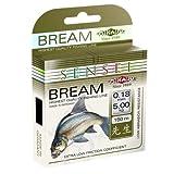 MIKADO BREAM Angelschnur 0.16 - 0.30 NEU 4,2 - 10,95 kg Brasse Weißfisch PROFI Schnur PREMIUM, Stärke/Gewicht:0.26/8.75