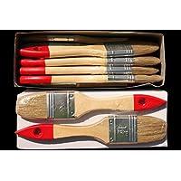 Flachpinsel 70 St/ück 1 Zoll 2,5cm Lackierpinsel Malerbedarf Malerpinsel Pinsel Lackpinsel Lack Farbe streichen