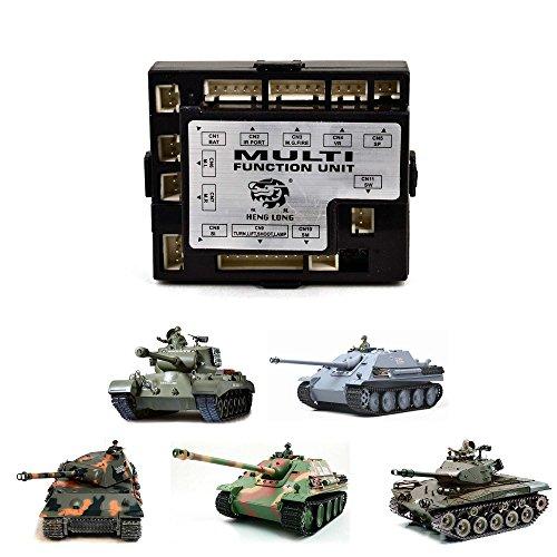 Preisvergleich Produktbild Original Heng Long RX-18 Platine für RC Panzer 3818, 3838, 3839, 3869, 3879, 3878, Receiver Ersatzteil