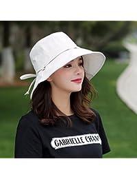 ERLINGSAN-MZ Mujer Sombrero Verano Plegable Moda Visor De Viaje Sombrero De  Pescador Gorra Del Lavabo Sombrero De Playa… fa0b988eba5