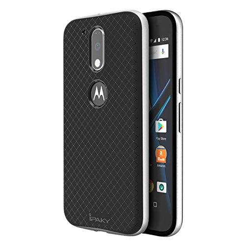 Funda Motorola Moto G4 / G4 Plus , Ipaky Protector Motorola Moto G4 / G4 Plus Marco Bumper Carcasa Motorola Moto G4 / G4 Plus Ultra Slim Cover Case