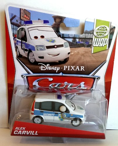 Disney Pixar Cars Alex Carvill (WGP Series, #17 of 17) - Voiture Miniature Echelle 1:55