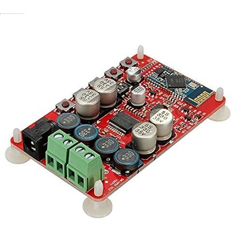 DAOKAI® Junta AUX Junta TDA7492P 50W + 50W inalámbrica Bluetooth 4.0 Receptor de audio amplificador