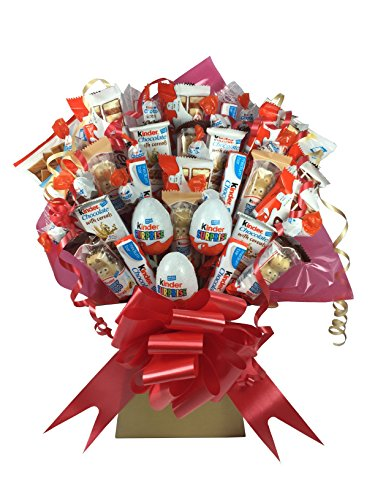 Kinder XL Chocolate Bouquet 41 Piece Tree Explosion Gift Hamper