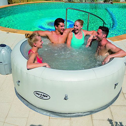 Lay Z Spa Paris Hot Tub With Led Lights Airjet