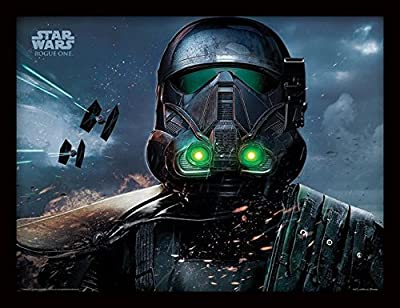 Star Wars Rogue One - Death Trooper Glow Photo encadrée