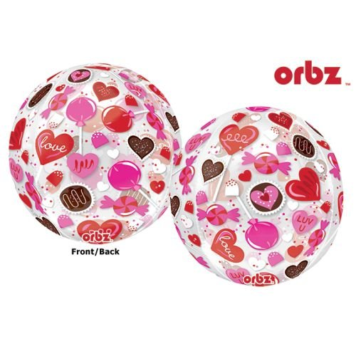 Amscan 318390115x 40,6cm Sweet Candy Orbz Folie Ballons