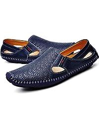 Sandalias de verano para hombre,Sonnena Verano hombres zapatos sandalias zapatillas hombre interior o al aire libre flip flops de playa y hogar