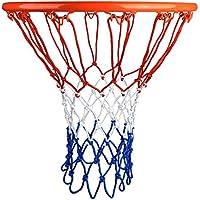 HOGAR AMO Malla de Baloncesto, Set de 2 Mallas de Nylon/Nailon de 4mm