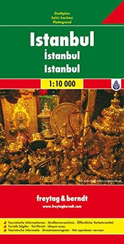 Estambul, plano callejero. Escala 1:10.000. Freytag & Berndt: Stadskaart 1:10 000 (City Map) por VV.AA.