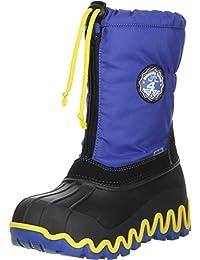 Vista Canada POLAR Kinder Winterstiefel Snowboots blau
