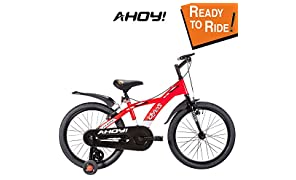 AHOY! Fitted & Ready to Ride Bike For 7 to 10 Years Kids Chaos 20 inch