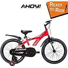 AHOY! Fitted & Ready to Ride Cycle 20 inch Chaos for Kids (7 to 10 Years) - Red