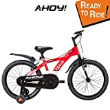 #5: AHOY! Fitted & Ready to Ride Cycle 20 inch Chaos for Unisex (7 to 10 Years) - Red