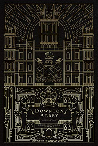 Une affiche stylisée pour le film Downton Abbey