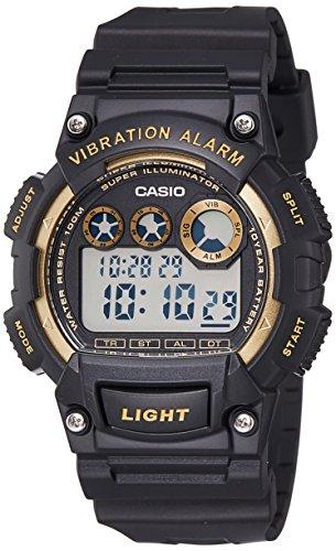 Casio watch with Movement Japanese Quartz Movement Unisex w-735h-1a238.0mm