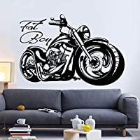 juntop Retro classic motorcycle sticker car decal poster vinyl wall motorcycle decorative mural sticker motorcycle racing sticker