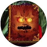 Tortenaufleger Tortenfoto Aufleger Foto Bild Nexo Knights 7 Buch der Monster 2 rund ca. 20 cm *NEU*OVP*