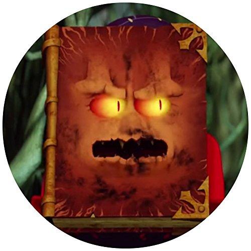 Preisvergleich Produktbild 9 Stück Muffinaufleger Muffinfoto Aufleger Foto Bild Tortenaufleger Tortenfoto Aufleger Foto Bild Nexo Knights ( 7 Buch der Monster 2 ) rund ca. 6 cm *NEU*OVP*