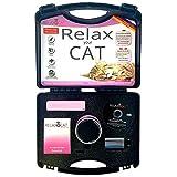 """RelaxoPet 100401 Entpannungssystem """"Relaxocat"""" für Katzen, schwarz/chrom/rot"""