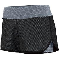 Augusta -  Pantaloncini sportivi  - Donna Multicolore Black/Graphite Plexus Print XXL