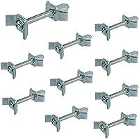 10 Sück - Möbelverbinder Arbeitsplattenverbinder Verbindungsschraube 150 mm Massiv-Holzverbinder aus Stahl | Möbel-Verbinder mit M6 Gewinde | Bohrmaß: 75-84 mm | Möbelbeschläge von GedoTec®