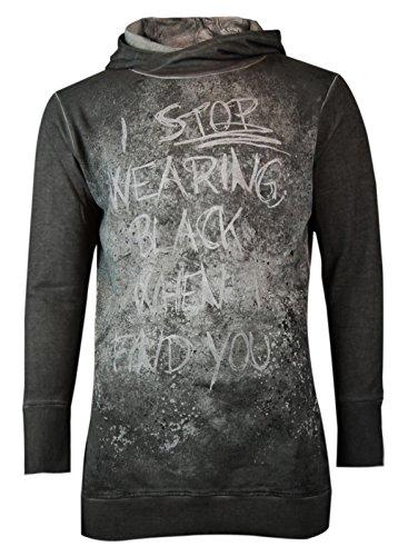 trueprodigy Casual Herren Marken Sweatshirt mit Aufdruck, Oberteil cool und  stylisch mit Kapuze (Langarm 2258c15eba