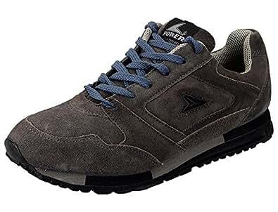 Bata Power Men's Sports Shoes (6 UK, Grey)