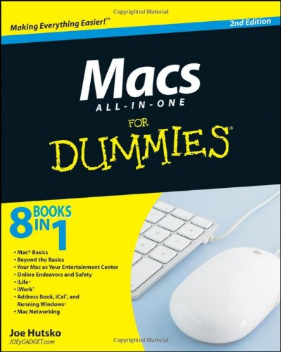 Macs All-in-One For Dummies (For Dummies (Computers))
