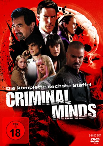 Criminal Minds - Die komplette sechste Staffel [6 DVDs] (Criminal Minds Staffel Sechs)