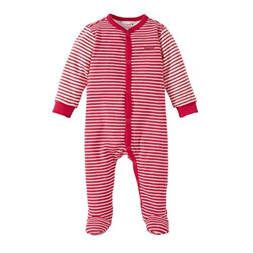 BORNINO Schlafoverall Baby-Nachtwäsche Baby-Schlafanzug, Größe 74/80, pink