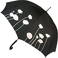 Poppy Colour Change Stick Umbrella